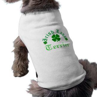 Irischer Lass, Terrier, Hündchen-T - Shirt