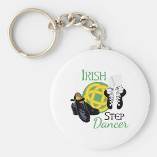 Irischer Schritt-Tänzer Schlüsselanhänger