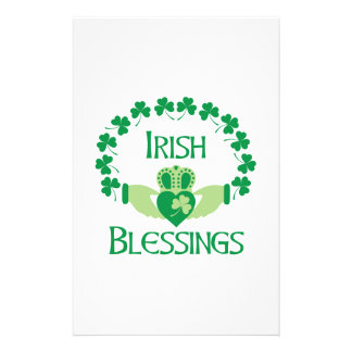 Irischer Segen Briefpapier