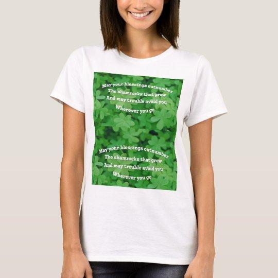 Irischer Segen T-Shirt