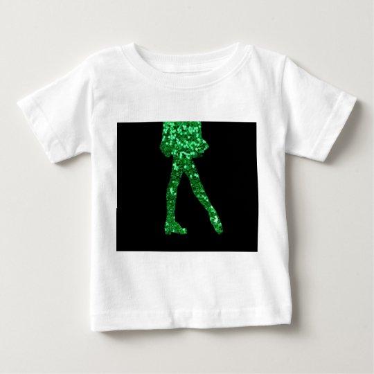 Irischer Tänzer Baby T-shirt