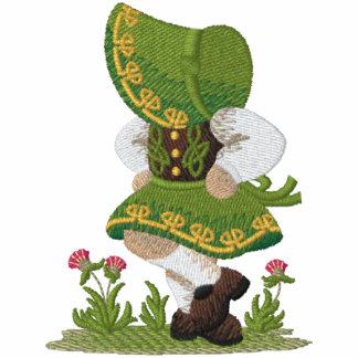 Irischer Tänzer Bestickter Damen Pullover Hoodie