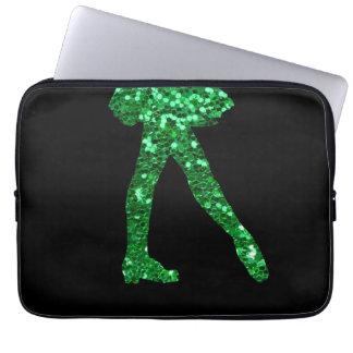Irischer Tänzer Laptop Sleeve