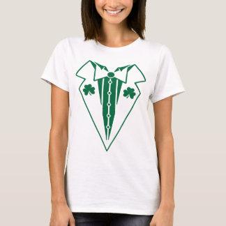 Irischer Tuxedo-lustiger T - Shirt