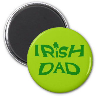 irischer Vati Runder Magnet 5,1 Cm