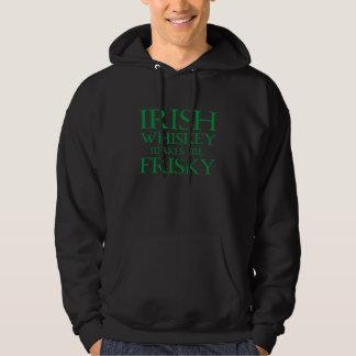 Irischer Whisky macht mich Frisky Hoodie