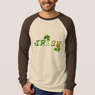 Irisches glückliches Kleeblatt T-Shirt