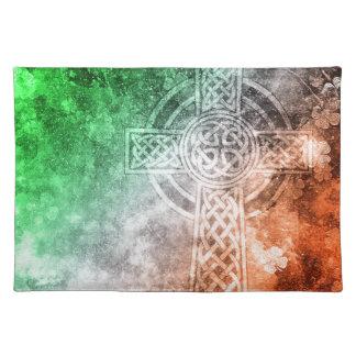 Irisches keltisches Kreuz Tischset