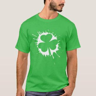 Irisches Kleeblatt-Weiß St. Patricks Tages T-Shirt
