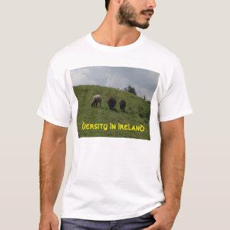 Irisches Schaf-Diversity in Irland-T-Shirt T-Shirt