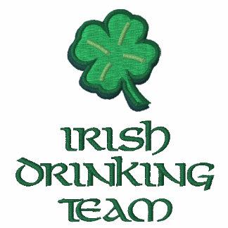 Irisches trinkendes Team lustiges Irland