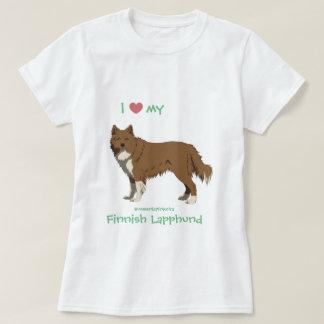 irish brown Finnish Lapphund shirt -lapinkoira