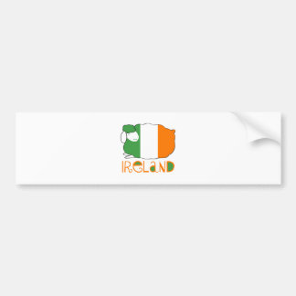 Irland Autoaufkleber