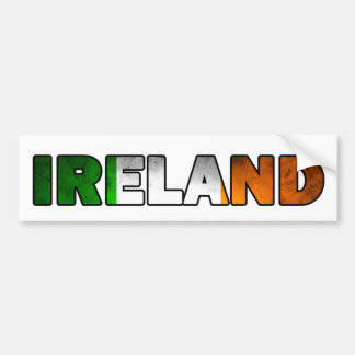 Irland-Autoaufkleber Autoaufkleber