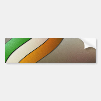 Irland-Flagge Farbe-Chrom durch Shirley Taylor Autoaufkleber