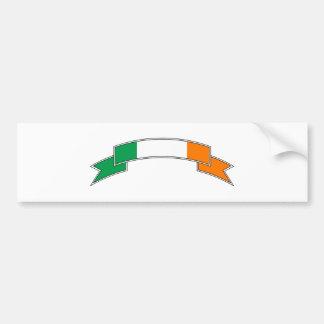Irland-Flaggen-Band Autoaufkleber
