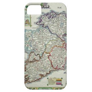 Irland-Karte - historische Karte IrenEire Erin iPhone 5 Etui
