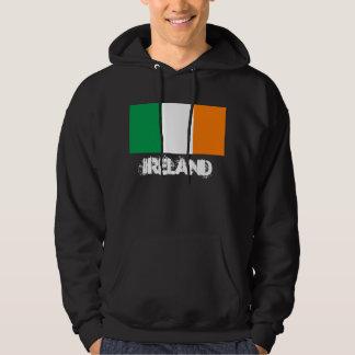 Irland mit irischer Flagge Hoodie