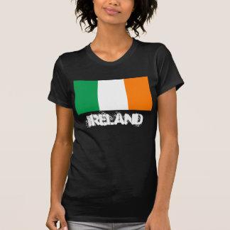 Irland mit irischer Flagge T-Shirt