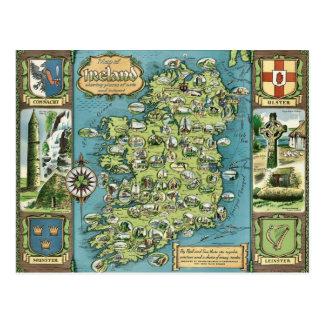 Irland-Postkarte Postkarte