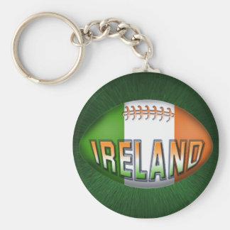 Irland-Rugbyball Schlüsselanhänger