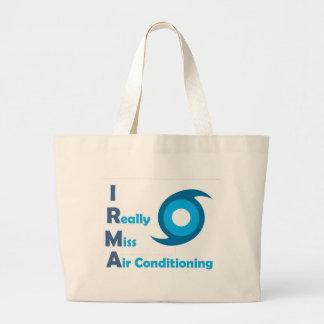 IRMA = verfehle ich wirklich Klimaanlage! Jumbo Stoffbeutel