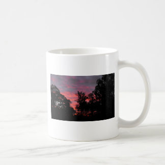 Ironbark Sonnenuntergang Kaffeetasse