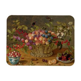 Isaak Soreau Malerei der Früchte Magnet