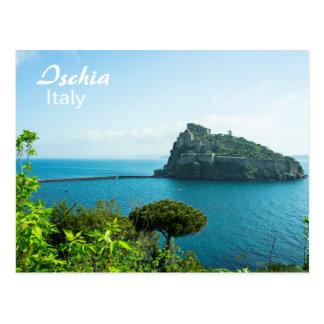 Ischia, Castello Aragonese - Postkarte