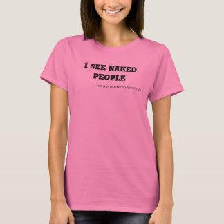 #Iseenakedpeople Crewhals T-Shirt
