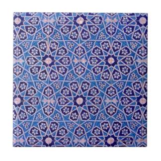 Islamische Muster 2 Kleine Quadratische Fliese