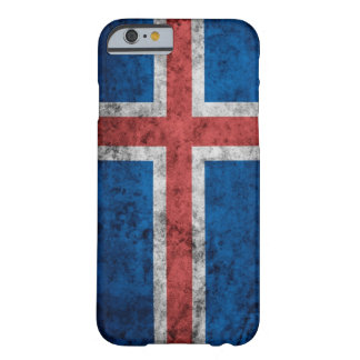 Island-Flagge iPhone 6/6s Abdeckung Barely There iPhone 6 Hülle