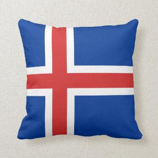 Island-Flagge Kissen