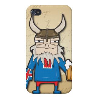 Isländer Viking iPhone4 iPhone 4 Etui
