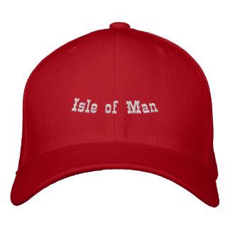 Isle of Man Bestickte Baseballkappe