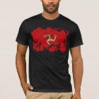 Isle of Man-Flagge T-Shirt