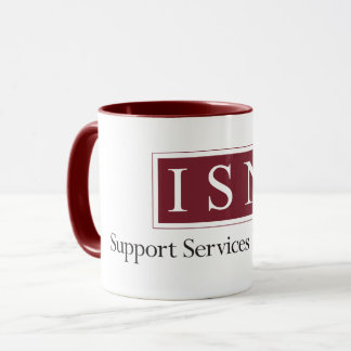 Isn-Beistandsservice-Maklergeschäft Zwei-Tonte Tasse