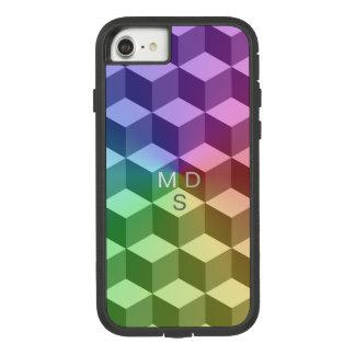 Isometrischer Regenbogen geometrisch Case-Mate Tough Extreme iPhone 7 Hülle 1