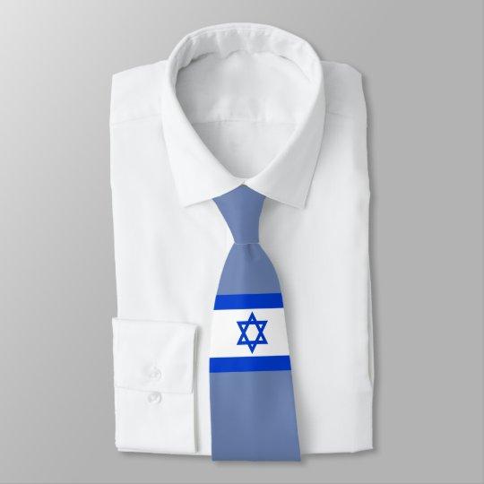 Israel-Flagge Krawatte