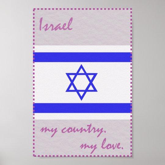 Israel mein Land meine Liebe Poster