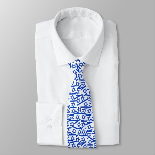 Israelische Flagge Krawatten