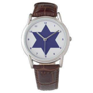 Israelische Luftwaffe Roundel Armbanduhr