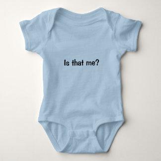 Ist das ich? Yup…, das ich ist! Baby Strampler