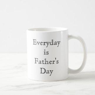 Ist der Vatertag täglich Tasse