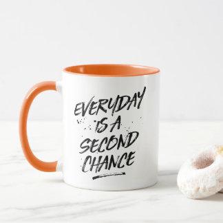 Ist eine zweite Möglichkeits-Kaffee-Tasse täglich Tasse