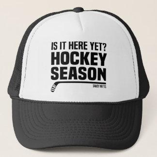 Ist es hier schon? Hockey-Saison-Deckel Truckerkappe