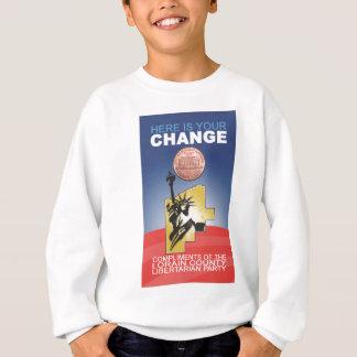 Ist hier Ihre Änderung Sweatshirt