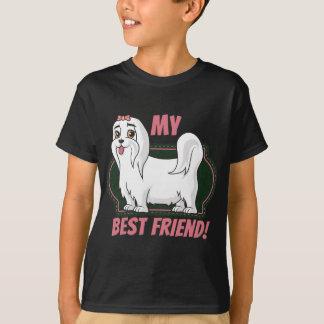 Ist mein bester Freund maltesisch T-Shirt