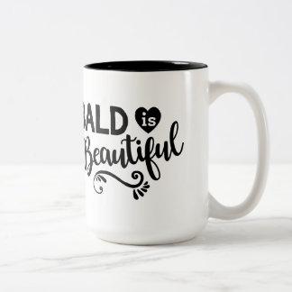 Ist schöne Kaffee-Tasse kahl Zweifarbige Tasse