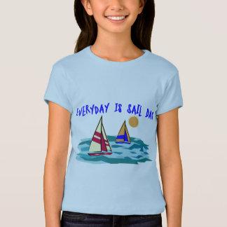Ist Segel-Tagest-shirt täglich T-Shirt